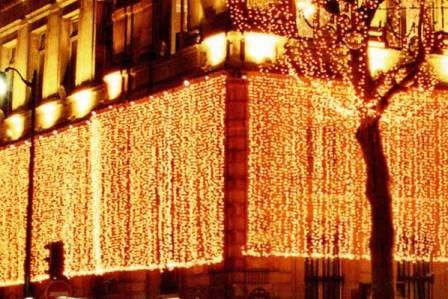 Декоративное освещение многоэтажных зданий